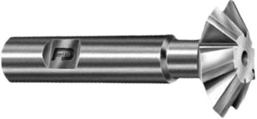 F&D Tool Company 10346 Corner Rounding Endmills Carbide Tipped for Steel 14 Circle Radius 1 Tool Diameter 34 Shank Diameter