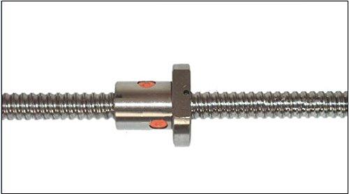GOWE Rolled C7 Ball screw SFU1605 1000mm length  ball screw nutends maching