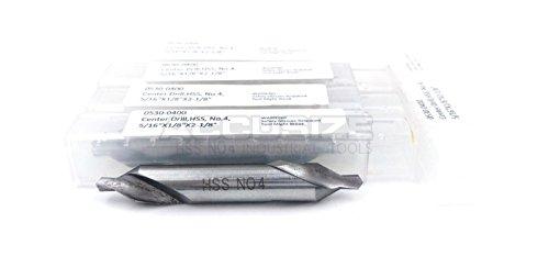 AccusizeTools -516 x 18 x 2-18 HSS Center Drill Bit 0530-0400x5