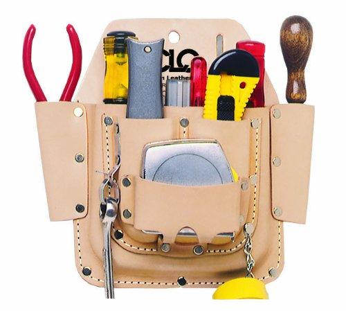CLC Custom Leathercraft W438 Maintenance Tool Pouch Heavy Duty 6-Pocket