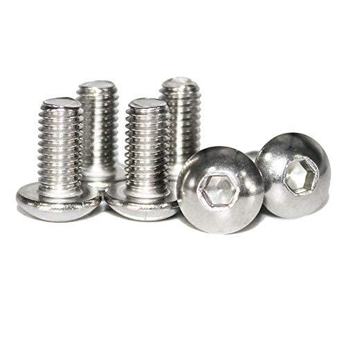 50pcs14-20x38 Stainless Steel Button Head Socket Cap Screwsby Fullerkreg