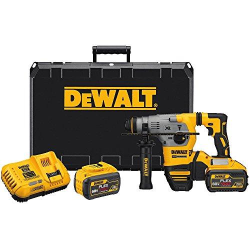 DEWALT 20V MAX XR Rotary Hammer Drill L-Shape SDS Plus 1-18-Inch DCH293X2