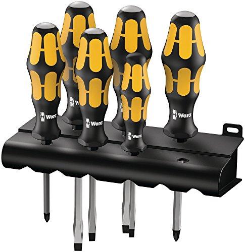 Wera 9326 Kraftform Plus Screwdriver Set and Rack 6-Pieces