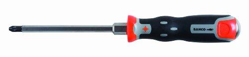 Bahco 040003150 Thru Blade Pozidriv Screwdriver 11-12-Inch