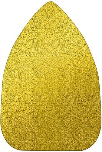 A&H Abrasives 106265 Multi Tool Sanding Shapes Black Decker Mouse H&l Mouse Shape H&L Aluminum Oxide 100 Grit 25 Each