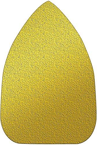 A&H Abrasives 116480 3-pack Of 25 Each Multi Tool Sanding Shapes Black Decker Mouse H&l Mouse Shape H&L Aluminum Oxide 40 Grit