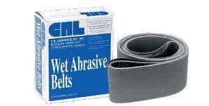 CRL 4 x 118 80 Grit Wet Abrasive Belts for Upright Belt Sanders- 5Box - CRL4X11880X