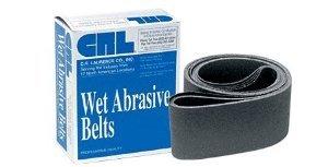CRL 4 x 82 60 Grit Wet Abrasive Belts for Upright Belt Sanders- 5Box - CRL4X8260X