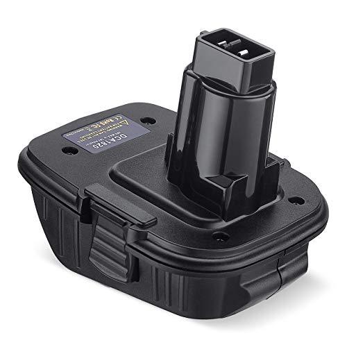 DCA1820 20V Battery Adapter for Dewalt 18 Volt Tools Convert Dewalt 20V Lithium Battery DCB200 DCB205 for Dewalt 18V NiCad NiMh DC9096 DW9096 DC9098 DC9099 DW9099 Battery Tools