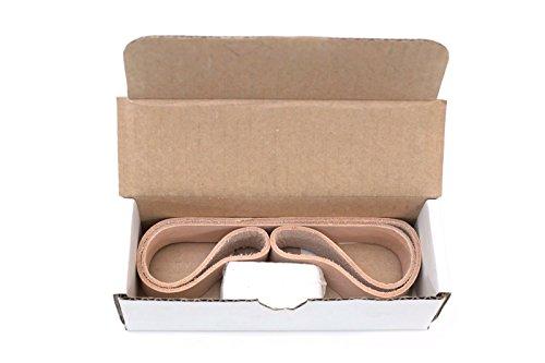 12X18 Leather Honing Polishing Belt Fits Work Sharp WS2000 Sharpening Attachment WSSA0002009