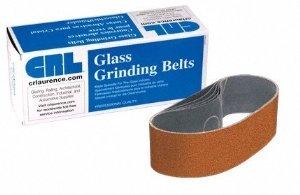 CRL 3 x 21 Cork Polishing Belts for Portable Sanders - 5 Per Box - CRL3X21C0RK