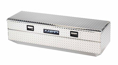 LundTradesman 9460T 60-Inch Aluminum Flush Mount Single Lid Truck Tool Box Diamond Plated Silver