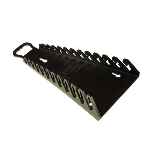 Ernst Manufacturing 5116-Blk Reverse Gripper 12-Wrench Organizer by Ernst Manufacturing