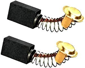 2PCS Replacement Carbon Brushes Compatible for Hitachi 999-043 Power Tool Motor Brush Set DeWalt 514003-43