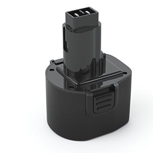 Pwr 96V Battery for Dewalt Dw9061 Dw9062 De9036 De9062 Dw9614 Dw050 Dw902 Dw911 Dw921 Dw926 Dw926k Dw926k2 Dw955 Dw955k-k2 Dw967k Black Decker PS120 Fire Storm Replacement Power Tool Battery 2Ah