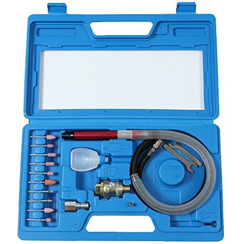 Envo High-speed Micro Die Grinder Kit Mini Tool 56000 RPM Blue