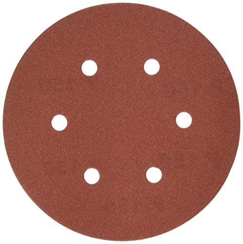DEWALT DW4334 6-Inch 6-Hole 150-Grit Hook and Loop Random OrBit Sandpaper 5-Pack