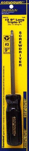Eazypower 35676  9-Inch Triple Y Fits Tri-Wing Screwdriver