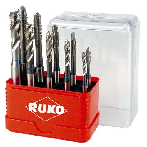 Ruko A245055 Tap Drill Bit Set High-Speed Steel