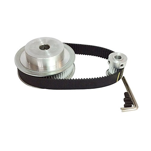 BEMONOC HTD 3M Timing Belt Pulley 41 72 Teeth and 18 Teeth Shaft Center Distance 90mm Engraving Machine Accessories - Belt Gear Kit
