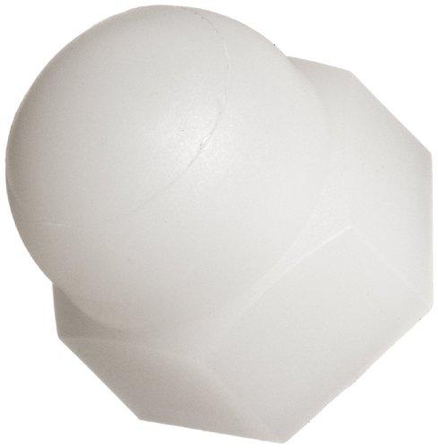 Nylon 66 Acorn Nut Off-White Class M4 Threads 7000 millimeter Width Across Flats Pack of 100
