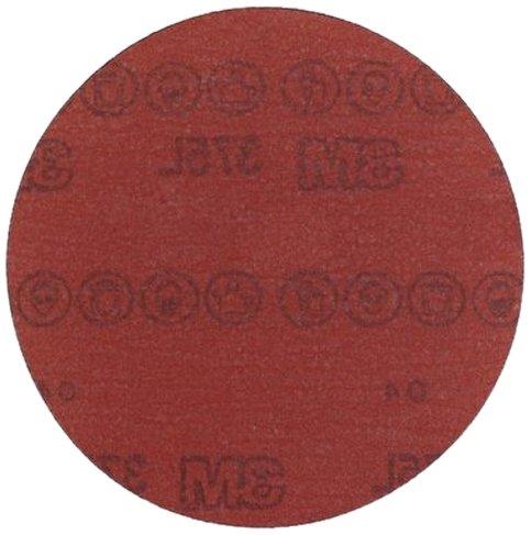 3M Hookit Film Disc 375L Aluminum Oxide 6 Diameter P600 Grade  Pack of 50