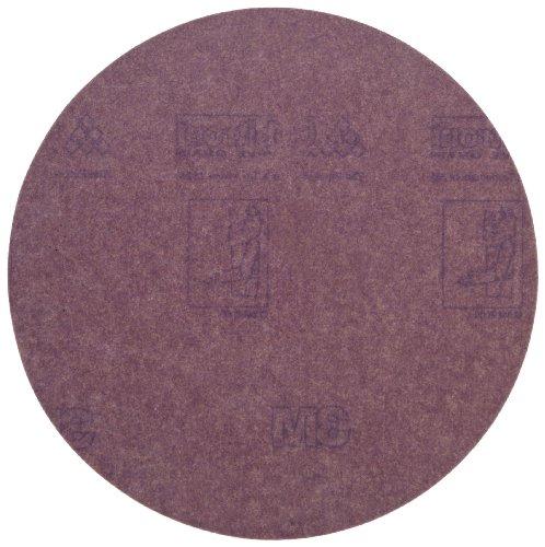 3M Hookit Paper Disc 735U Hook and Loop Attachment Ceramic Aluminum Oxide 6 Diameter P120 Grit Pack of 50