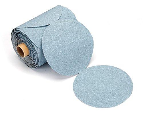 Mirka 22-342-120 BaseCut 6 Sticky Back PSA Sanding Discs 120G Qty 100