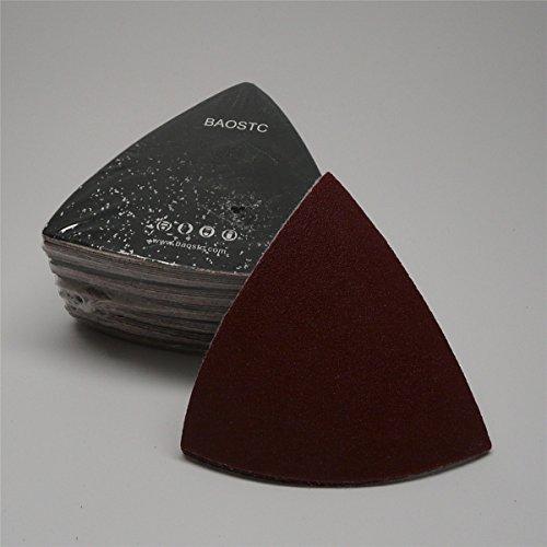 BAOSTC triangle velcro sanding disc3 183 no hole P6050PACK