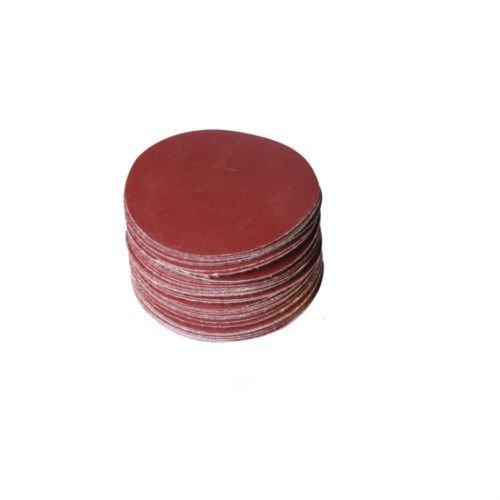 SHINA 10pcs 7 400 GRIT Sanding Discs Velcro Hook Loop Backed Aluminum Oxide Sandpaper