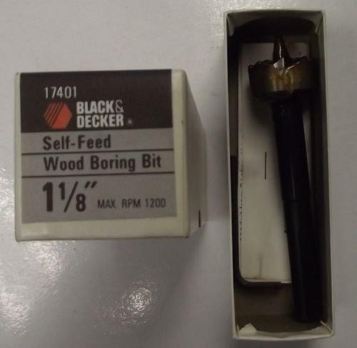 Black Decker 17401 1-18 Self Feed Wood Boring Drill Bit USA