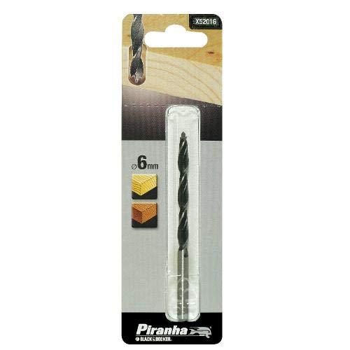 Brad Point Wood Drill Bit 6mm