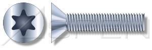 1500pcs 516-18 X 1 Machine Screws Flat 6-Lobe Drive Steel Zinc Plated Standard Countersink Ships Free in USA