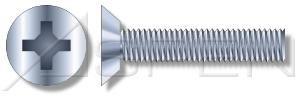 8000pcs 8-32X78 Machine Screws Flat Undercut Phillips Drive Steel Zinc Plated Standard Countersink
