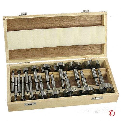 Forstner Drill Bit Set Woodworking Hole Saw Forstner Set 16 pc
