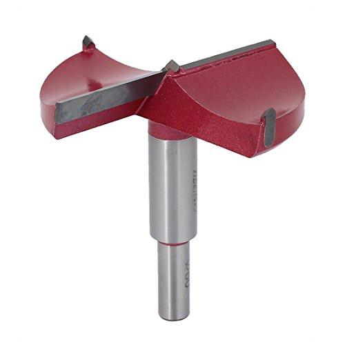 uxcell 80mm x 875mm TCT Auger Carbide Tip Kit Wood Forstner Drill Hinge Boring Bit