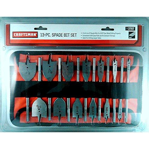 Craftsman 9-3797 Spade Bit Set 13 Piece
