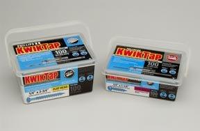Kwiktap 4710014 X 1- 14 Hex 100 Pk Concrete Screws misc