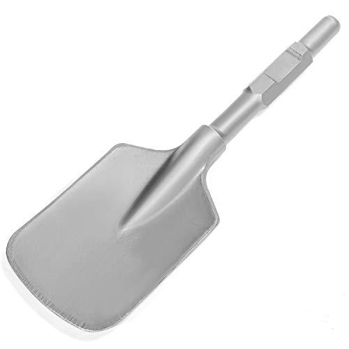 XtremepowerUS Hex Shank Asphalt Cutter Bit for Electric Demolition Jack Hammer 1-18 Chisel Shovel Scoop Breaker