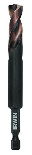 IRWIN Tools 1871042 Impact Performance Series 38-Inch Turbomax Black and Gold Drill Bit