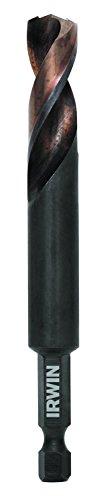 IRWIN Tools 1871043 Impact Performance Series 716-Inch Turbomax Black and Gold Drill Bit