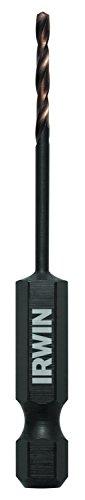 IRWIN Tools 1871046 Impact Performance Series 564-Inch Turbomax Black and Gold Drill Bit Bulk 12-Pack