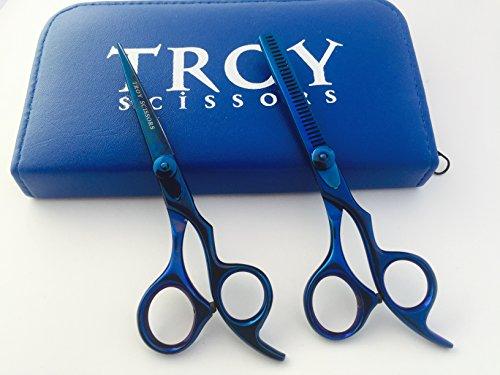 Professional Salon Stylist Barber Hair Cutting Scissors Hair Thinning Scissors Set Hair Cutting Scissors Shears 55