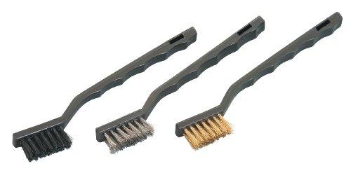 WorkShop 87064RP Mini Wire Brush Set 3-Piece