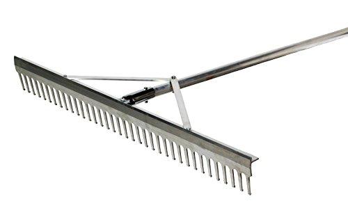 Trigon Sports Aluminum Landscape Rake 24-Inch