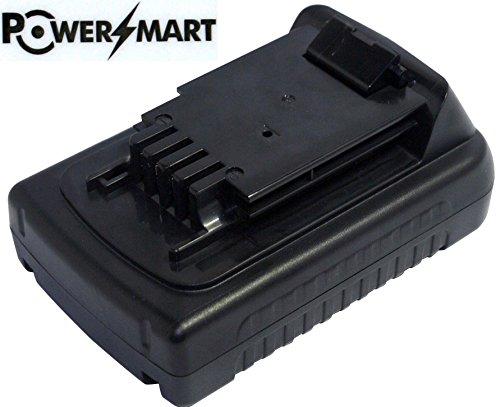 PowerSmart 20V 15Ah 5 Cell LB20 LBX20 LBXR20 Battery for Black Decker LPHT120 Cordless Pole Hedge Trimmer Black Decker LST120 LST220 TrimmerEdger Black Decker LSW20 Cordless Electric Sweeper
