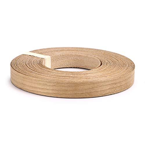 Skelang Cherry 34 X 50 Roll Wood Veneer Edge Banding Preglued Iron-On with Hot Melt Adhesive Edgebanding Flexible Wood Tape