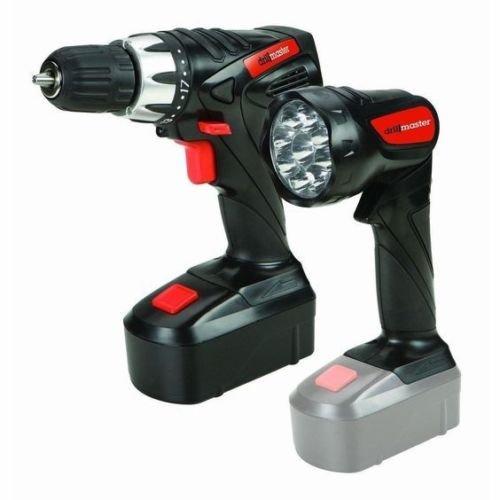 18 Volt Cordless Drill Flashlight kit