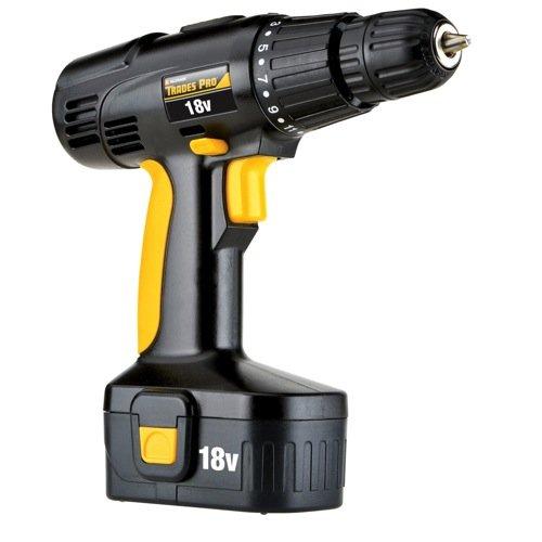 Tradespro 836710 18-volt Cordless Drill