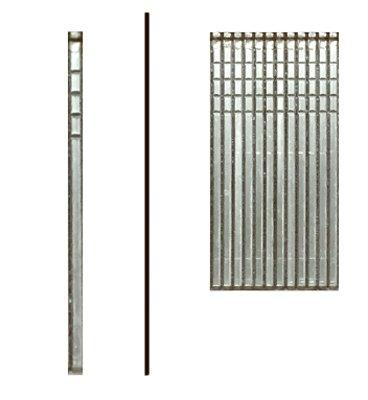 Hillman Fasteners 461709 125 in x 18 ga Brad Straight Smooth Glue Electro Galvanized Nails